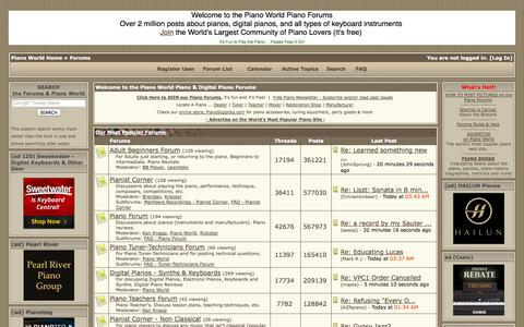 Screenshot of Signup Page pianoworld.com - Piano World Piano & Digital Piano Forums | Forums powered by UBB.threads™ - captured Sept. 19, 2014