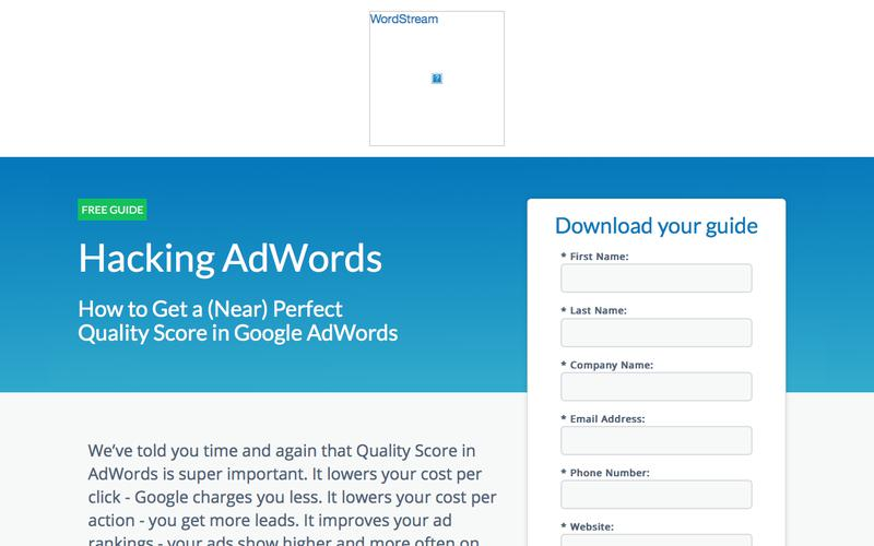 Hacking AdWords: How to Get a Near Perfect Quality Score