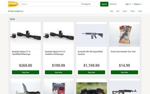 Deals at GunBroker.com