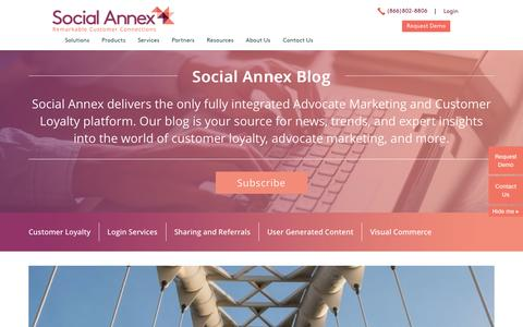 Screenshot of Blog socialannex.com - Social Annex Blog - Social Annex - Social Commerce Blog - captured Dec. 10, 2016