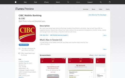CIBC Mobile Banking on the App Store