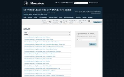 Screenshot of Hours Page sheratonokc.com - Sheraton Oklahoma City Downtown Hotel | Official Website | Best Rates, Guaranteed. - captured Feb. 14, 2016