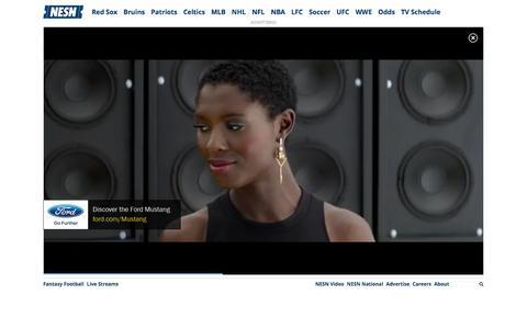 Screenshot of Contact Page nesn.com - Contact | NESN.com - captured Dec. 2, 2015