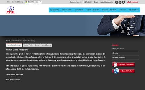 Screenshot of Jobs Page atulauto.co.in - ATUL AUTO LIMITED - captured Nov. 1, 2014