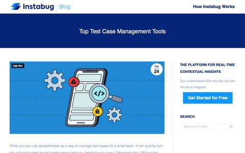 Screenshot of Case Studies Page instabug.com - Top Test Case Management Tools | Instabug Blog - captured Dec. 3, 2019