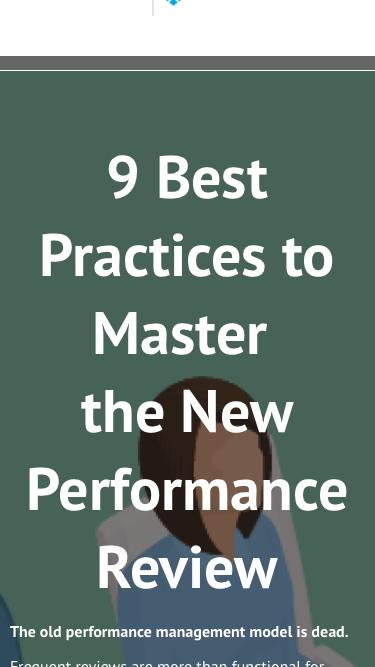 9 Best Practices to Master the new Performance Review