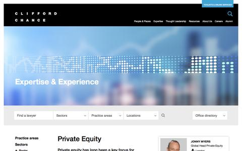 Clifford Chance | Private Equity