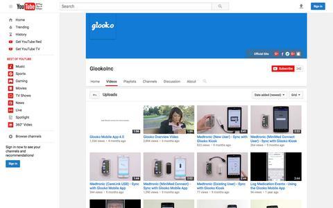GlookoInc  - YouTube