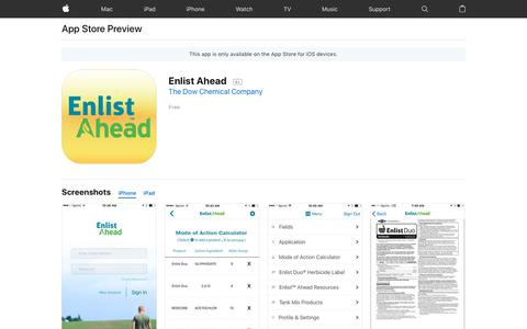 Enlist Ahead on the AppStore