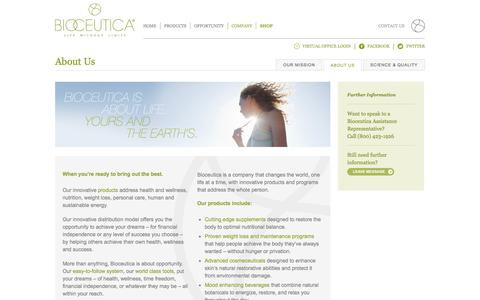 Bioceutica - About Us