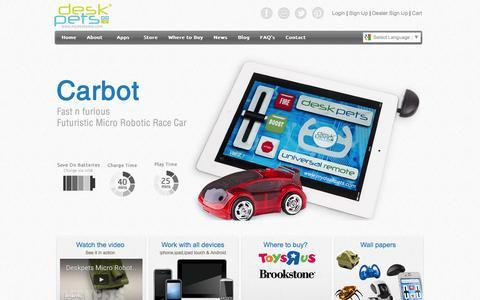 Screenshot of Signup Page Login Page mydeskpets.com - Deskpets - captured Nov. 24, 2016