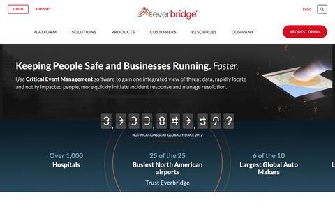 Unified Critical Communication Suite - Everbridge.com