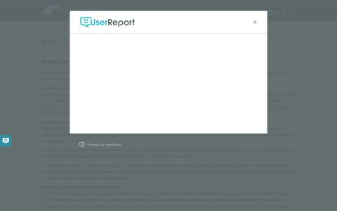 Screenshot of Privacy Page capitalinstitute.org - Privacy - CAPITAL INSTITUTE - captured Dec. 7, 2015