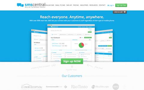 SMS Software | SMS Service Provider | Send SMS | SMS Central