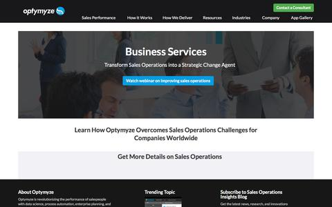 Business Services Organizations Improve Planning and Maximize Revenue