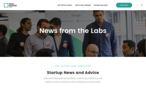 Screenshot of Blog techsquare.co - Blog – TechSquare Labs - captured Nov. 5, 2017