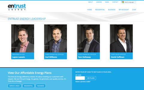 Screenshot of Team Page entrustenergy.com - Entrust Energy - David_Headshot_Lr - captured May 2, 2016