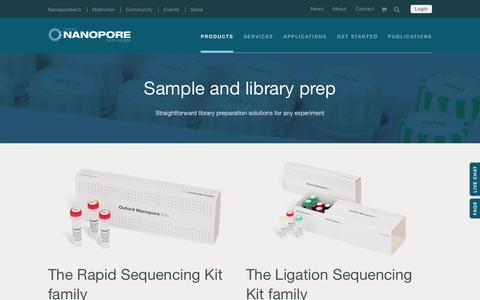 Sample Prep kits