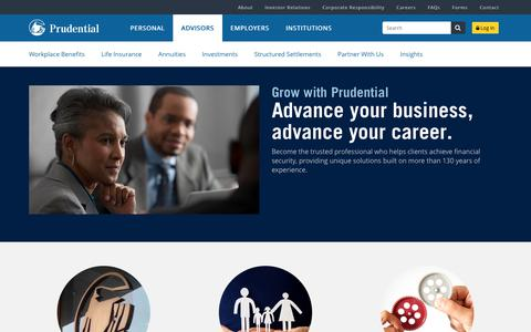 Prudential Advisors | Prudential Financial