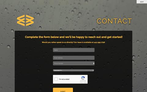 Screenshot of Contact Page spiderwebconnections.com - Contact for Web Design, Local SEO & Digital Marketing | SpiderWeb Connections - captured Oct. 23, 2017