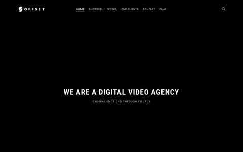 Screenshot of Home Page offset.sg - Singapore Motion Graphic Company | Animation Studio - captured Oct. 18, 2018