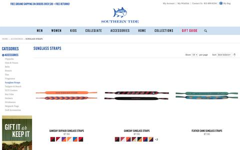 Sunglass Straps | Skipjack Gear | Accessories | Southern Tide