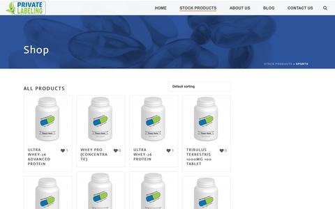 Sports Archives - Private Label Supplements and Vitamins