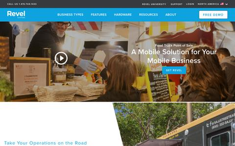 Food Truck POS System   Revel iPad Point of Sale