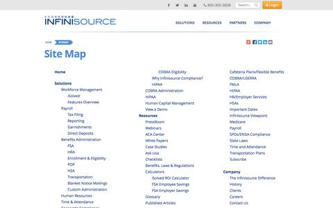 Sitemap | Infinisource