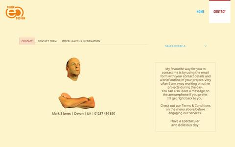Screenshot of Contact Page electricooze.com - Electric Ooze - Contact Electric Ooze - captured July 12, 2016