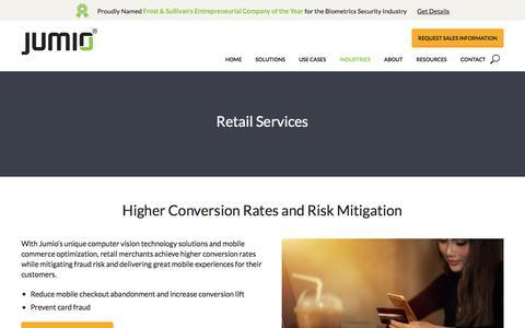 Mobile Commerce Optimization for Retail | Jumio.com