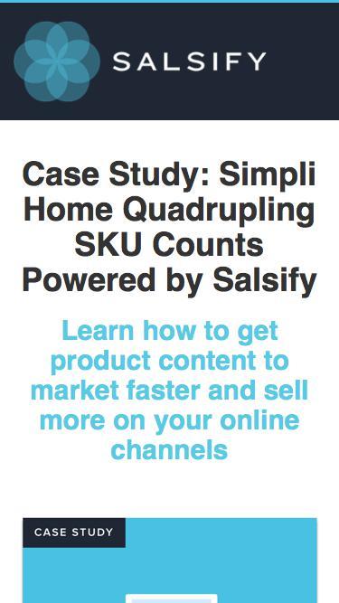 Case Study - Simpli Home Quadrupling Sku Counts