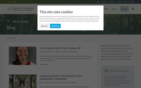 Screenshot of Blog spsmw.org - Blog - Category Archive - captured Oct. 18, 2018