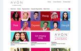 New Screenshot Avon Home Page
