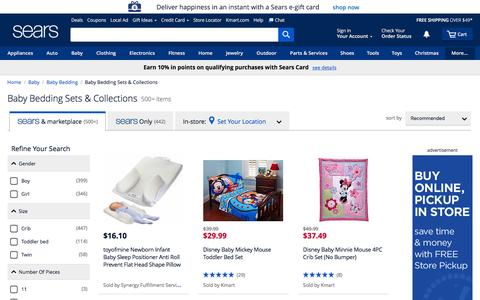Crib Bedding Sets - Sears