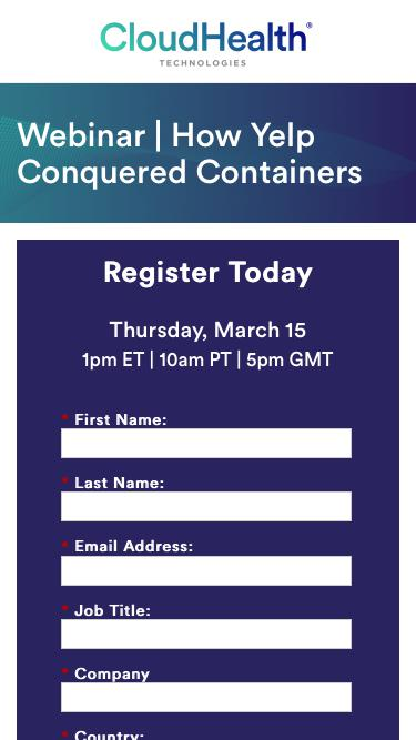 Webinar | How Yelp Conquered Containers