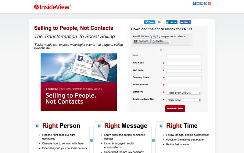 InsideView eBook: Selling to People, Not Contacts
