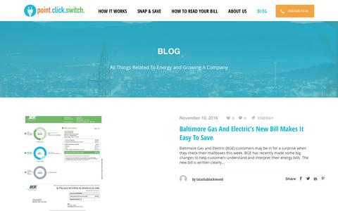 Screenshot of Blog pointclickswitch.com - Blog - PointClickSwitch.com - captured Nov. 18, 2016