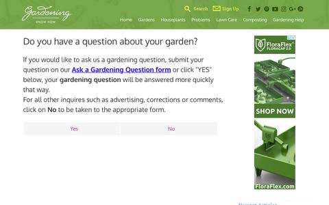 Screenshot of Contact Page gardeningknowhow.com - Contact Us - Gardening Know HowGardening Know How - captured May 21, 2018