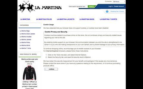 Screenshot of Login Page accessrm.co.uk - Cookie Usage : La Martina Men clothing online sale, La Martina cheap sale, La Martina Men clothing online sale, La Martina cheap sale - captured Feb. 5, 2016