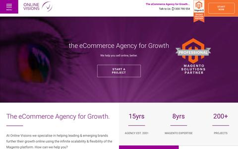 Magento Enterprise Solutions Partner | eCommerce Agency | Online Visions