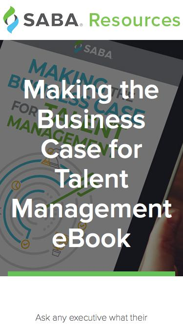 Making the Business Case for Talent Management eBook