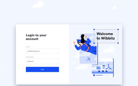 Screenshot of Login Page wibbitz.com - Wibbitz | Studio - captured Jan. 26, 2020