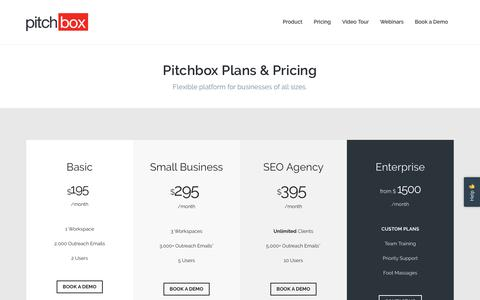 Pricing | Pitchbox