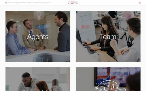 Screenshot of Jobs Page corenyc.com - Careers | CORE Real Estate - captured July 22, 2018