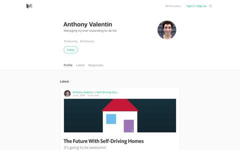 Anthony Valentin – Medium