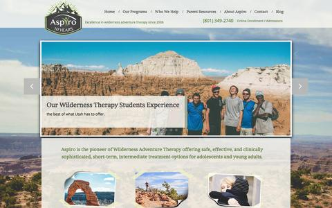 Aspiro - Wilderness Adventure Therapy for Teens and Young Adults