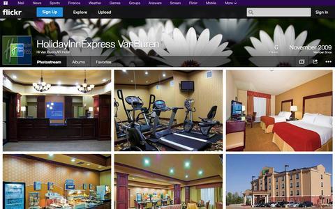Screenshot of Flickr Page flickr.com - Flickr: Hi Van Buren,AR Hotel's Photostream - captured Oct. 22, 2014