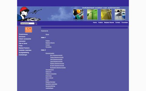 Screenshot of Site Map Page belplast.nl - Map - captured Oct. 5, 2014
