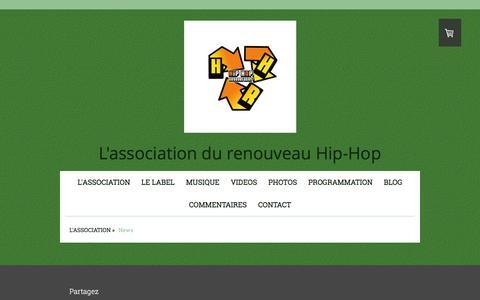 Screenshot of Press Page hiphopregenerates.com - News - HipHopRegenerates Web site! - captured Dec. 5, 2015